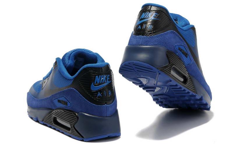 cheap for discount 6b3fc cd79b Nike Air Max Noir Et Bleu
