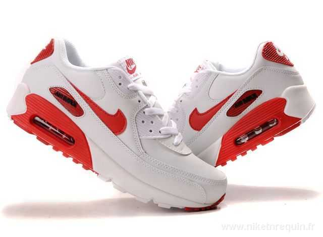 Nike Air Max Blanche Et Rouge