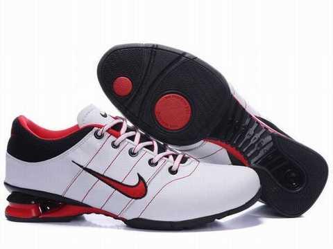 Basket Nike Shox Rouge